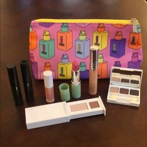 Clinique Assorted Makeup and Cosmetic Bag
